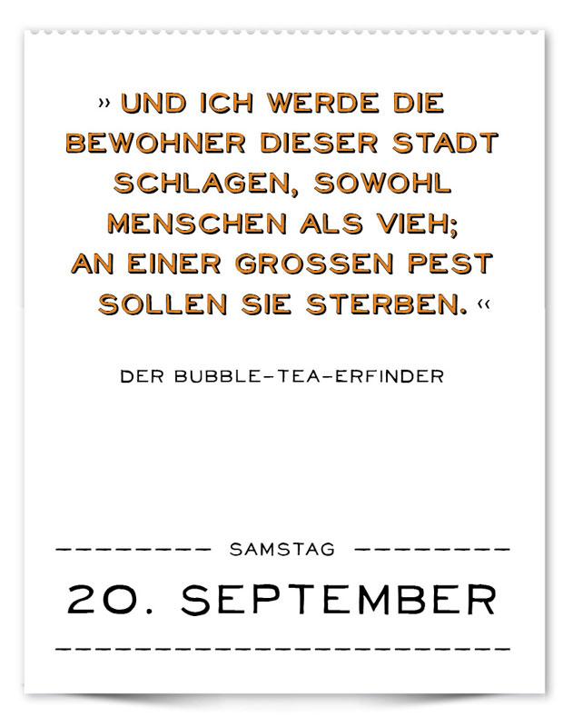 Marc Uwe Klings Falsch Zugeordnete Zitate Der Falsche Kalender